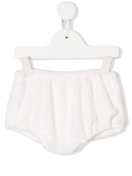 La Stupenderia elasticated waist bloomer - White
