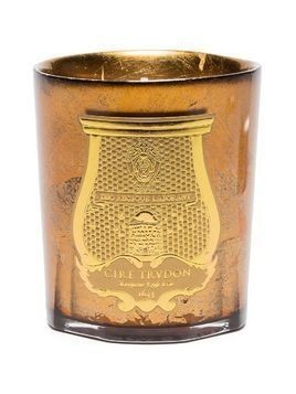 Cire Trudon yellow Hupo amber candle