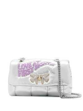 Pinko Love At First Sight shoulder bag - SILVER