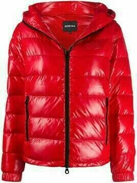 Duvetica hooded puffer jacket - Red