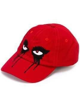 Haculla Moody Eyes cap - Red