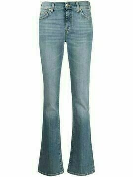 7 For All Mankind mid-rise straight leg jeans - Blue