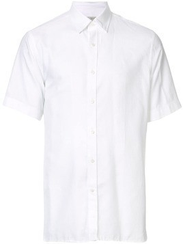 Gieves & Hawkes short-sleeve fitted shirt - White