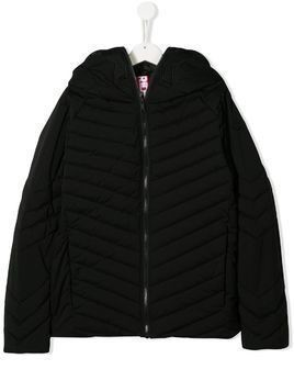 AI Riders on the Storm TEEN zipped padded jacket - Black