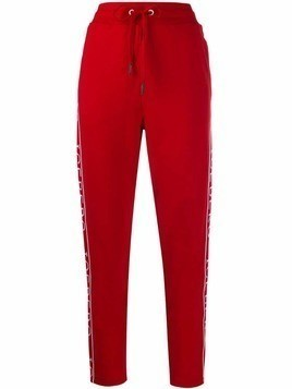 Iceberg logo tape track pants - Red