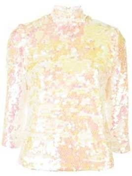 Milly sequined blouse - Multicolour