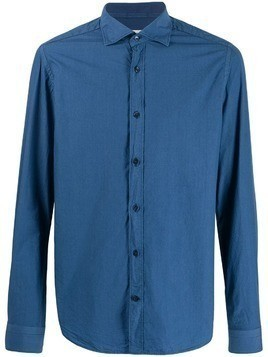 Al Duca D'Aosta 1902 French collar shirt - Blue