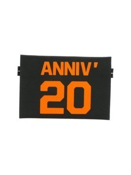 Mm6 Maison Margiela 20th anniversary pouch - Black