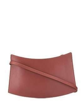 Aesther Ekme Accordion wristlet clutch - Brown