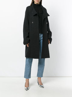 Nina Ricci Vintage double breasted coat - Grey