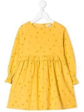 Knot Eclipse corduroy dress - Yellow
