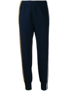 SJYP side stripe track pants - Blue