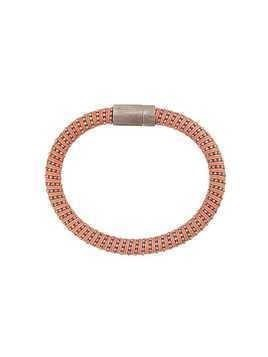 Carolina Bucci Twister band bracelet - Pink