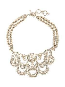 Marchesa Notte cut-out detail necklace - Metallic