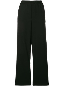 8pm wide leg track trousers - Black