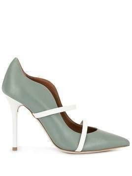 Malone Souliers Maureen 100mm pumps - Green