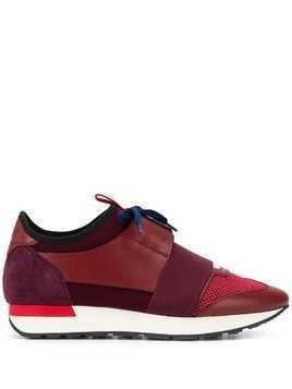 Balenciaga Runner panelled sneakers - Red