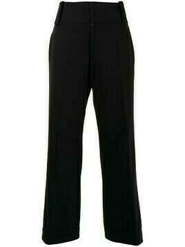 Yohji Yamamoto Pre-Owned tailored cropped trousers - Black
