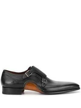 Magnanni monk strap shoes - Black