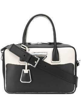 Prada structured tote bag - Black