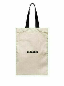 Jil Sander canvas tote bag - White