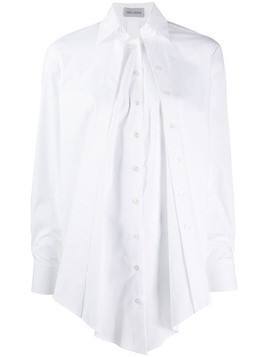 Balossa White Shirt handkerchief hem shirt