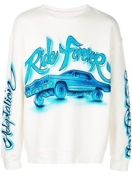 Adaptation Ride Forever sweatshirt - White