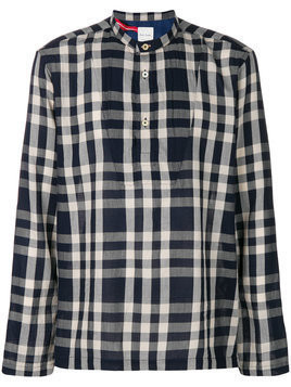Ps By Paul Smith - checked smock shirt - Herren - Cotton - S - Blue