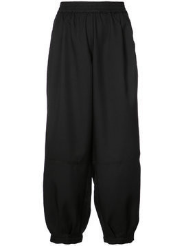 The Celect balloon track pants - Black