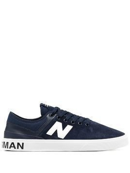 Junya Watanabe MAN lace-up low top sneakers - Blue