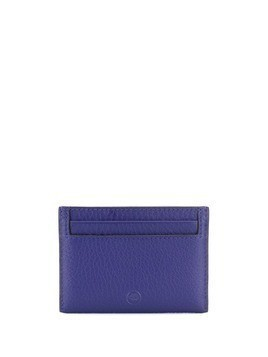 Mulberry embossed logo cardholder - Blue
