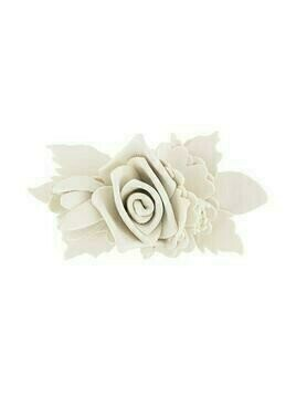 Philosophy Di Lorenzo Serafini flower appliqué brooch - Neutrals