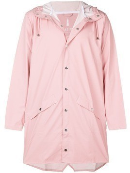 Rains water-resistant hooded coat - Pink