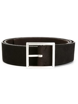 Orciani long beach double stretch leather belt - Brown