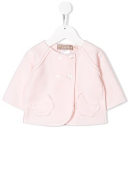 La Stupenderia double-breasted fitted jacket - PINK