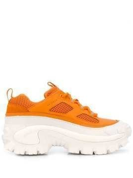 Axel Arigato x Cat ridged sole sneakers - ORANGE