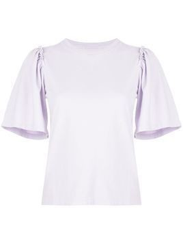 Citizens Of Humanity Vera short-sleeve T-shirt - PURPLE