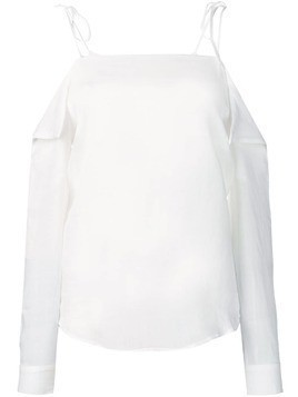 Tela off the shoulder top - White