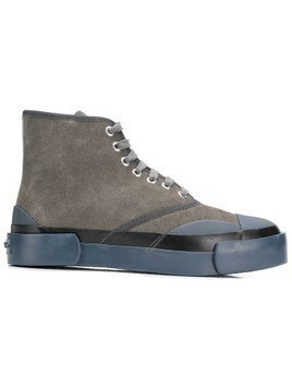Julien David Inka high-top sneakers - Brown