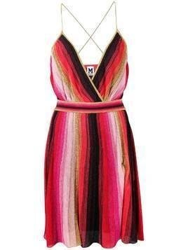 M Missoni empire-line mini dress - Red