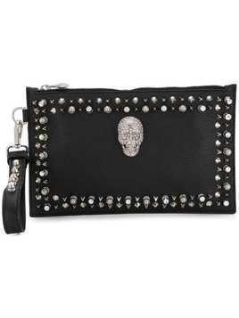 Philipp Plein Studs shoulder bag - Black