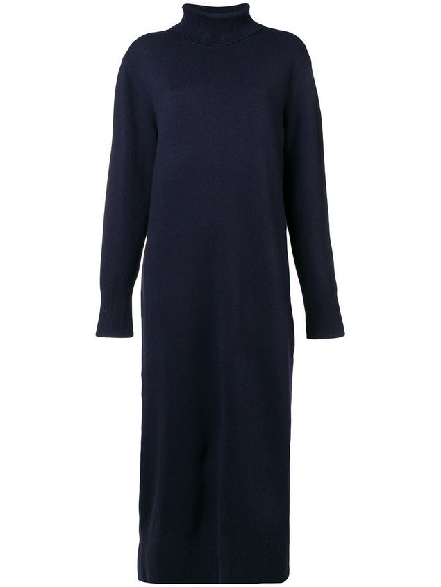 Joseph long knit dress - Blue