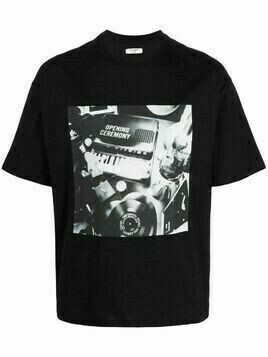 Opening Ceremony graphic-print T-shirt - Black
