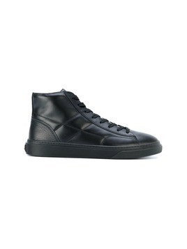 Hogan hi-top lace up sneakers - Black