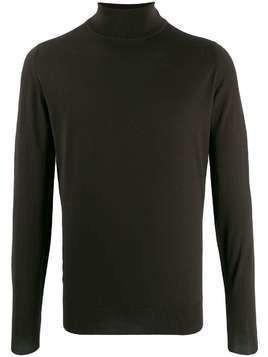 John Smedley Cherwell turtleneck jumper - Brown