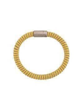 Carolina Bucci Twister band bracelet - Yellow