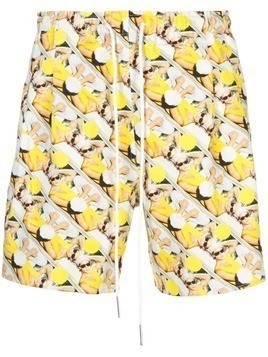 ROCHAMBEAU sport shorts - Yellow