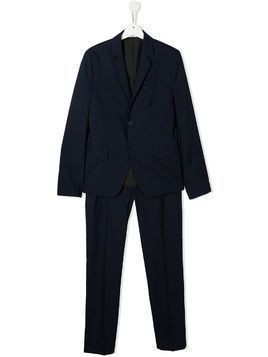 BOSS Kidswear single button suit - Blue