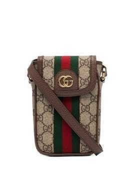 Gucci Ophidia GG Supreme mini bag - Brown