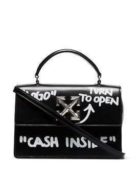 Off-White Itney 1.4 Cash Inside bag - Black
